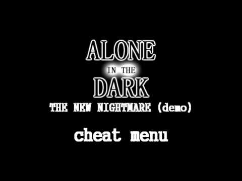 Alone In The Dark The New Nightmare Demo Cheat Menu Youtube