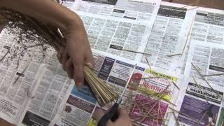 Как создать фантастические букеты из засушенных цветов