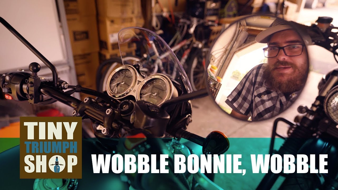 0019: Bonnie T120 Update, Low Speed Wobble & What I Missed The Most From  The Tiger Explorer