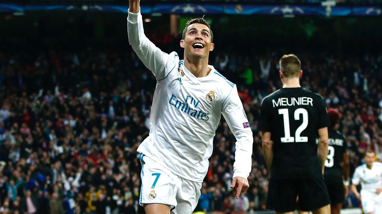 Real Madrid 3 1 Psg Cristiano Ronaldo Brace Sinks Les