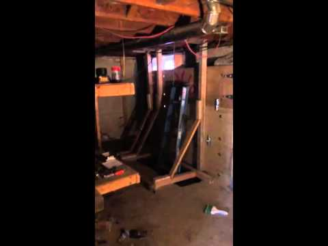 basement wall bowing repair cost littleton co 303 797 8908