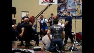 Repeat youtube video Bob Benedix USPF 675 squat @ Worlds