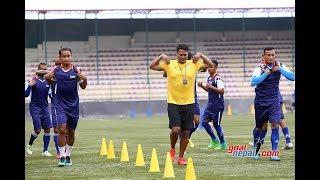 Aaaayoooo gorkhali || nepal national team training session starts