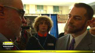 Collectivist Mark Levin confronted by antiwar veteran