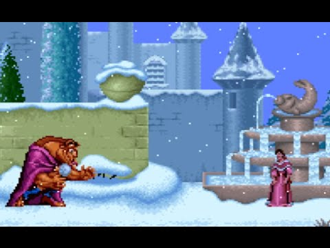 Disney's Beauty and the Beast (SNES) Playthrough - NintendoComplete