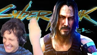 Toby Reacts to Cyberpunk 2077 Trailers