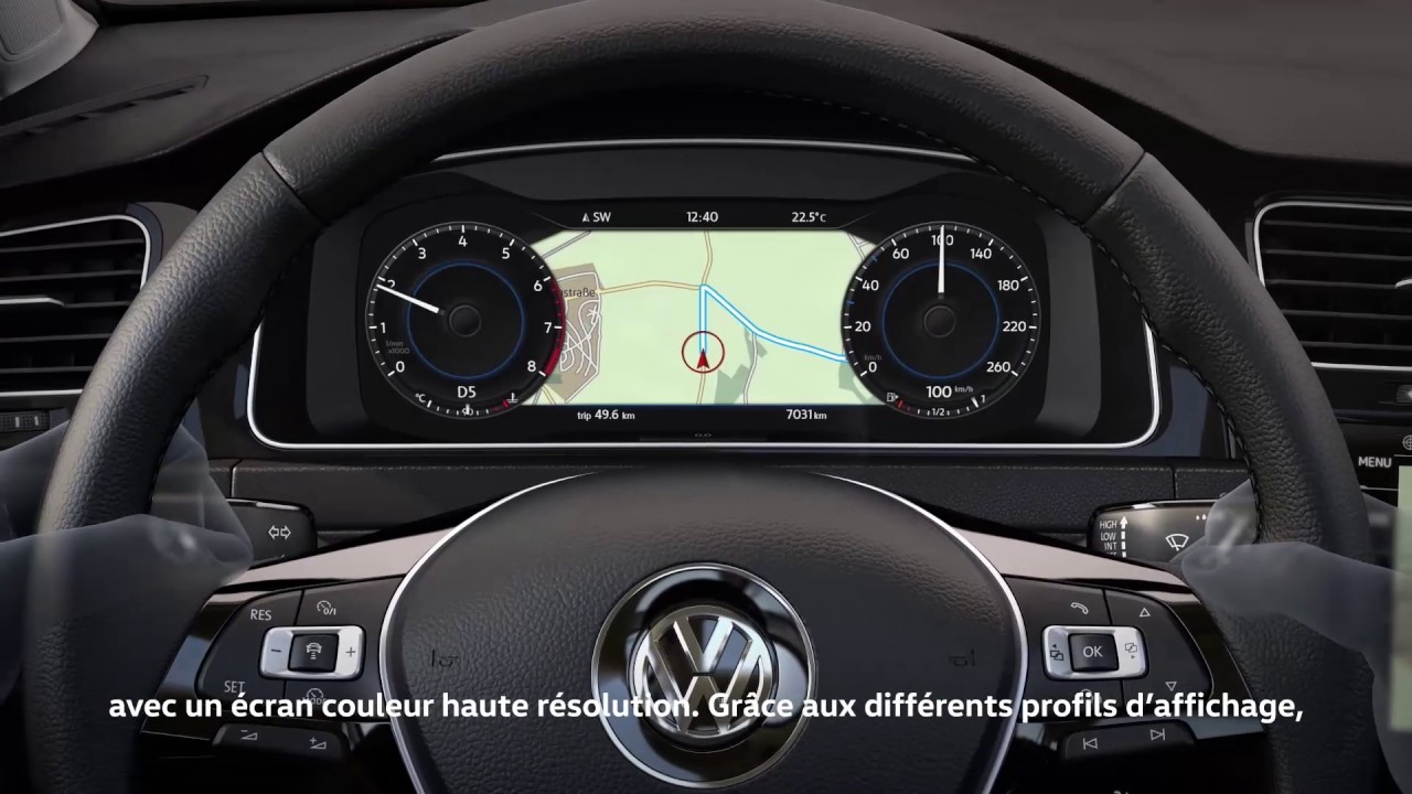 active info display technologies volkswagen youtube. Black Bedroom Furniture Sets. Home Design Ideas