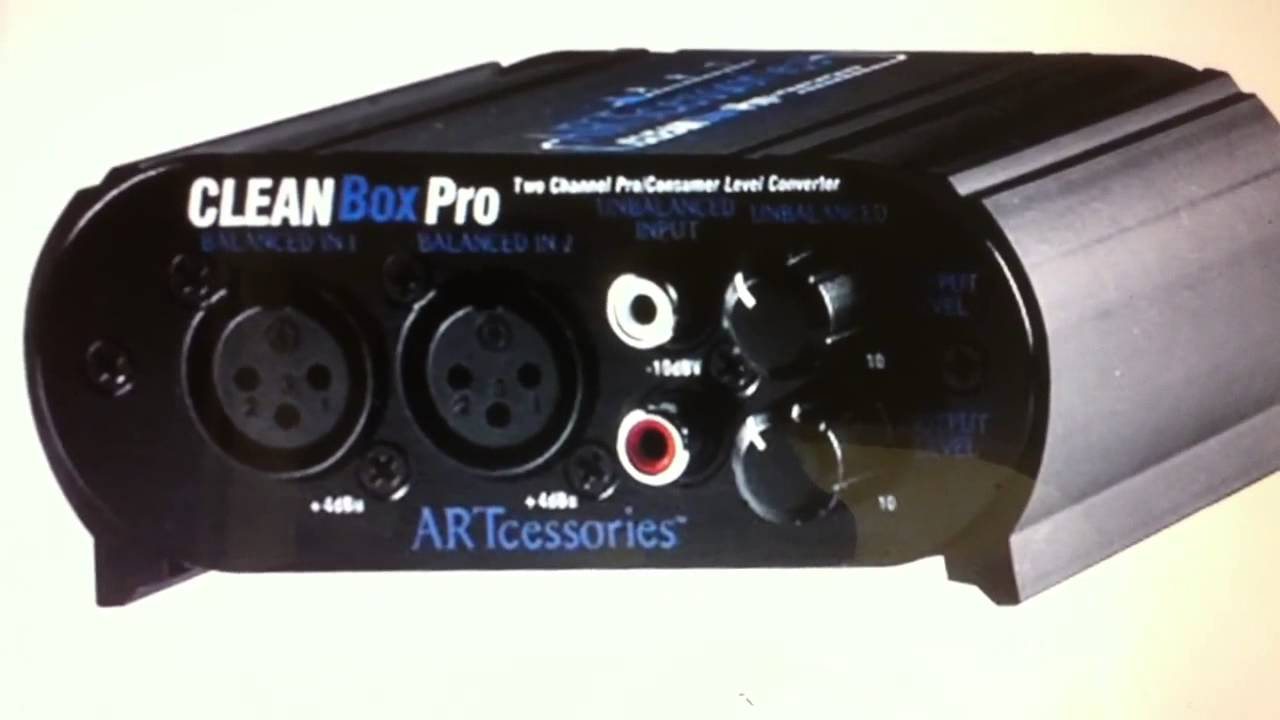 Art Cleanbox Pro Review Youtube Mic Preamplifier Electronicslab