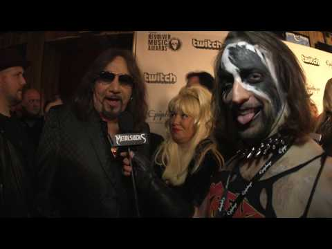 ACE FREHLEY Interview, Revolver Music Awards 2016 Black Carpet | MetalSucks