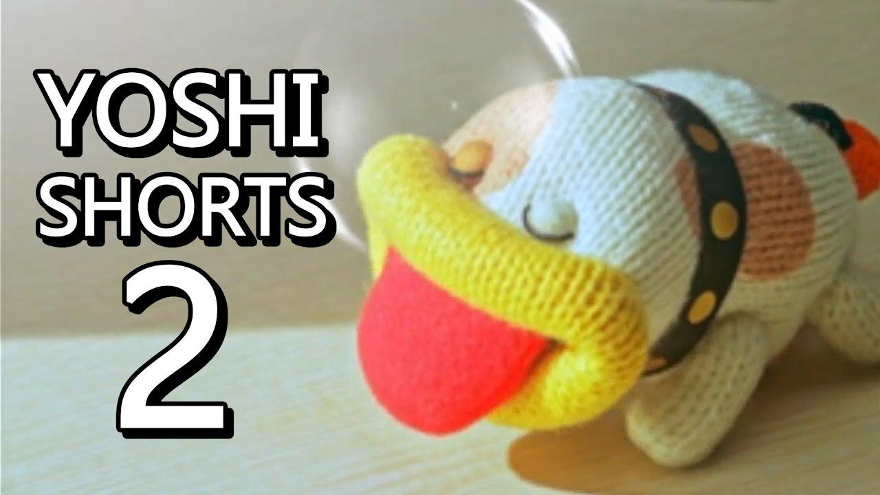Poochy Amp Yoshi S Woolly World All Yoshi Shorts Part 2