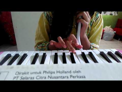 Cara Memainkan Pianika Lagu Bunda