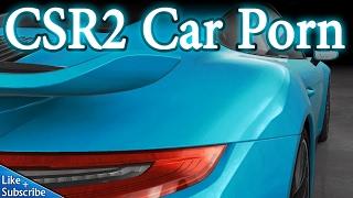 CSR Racing 2 - Car Porn -Porsche 911 -Silvia S15 -Mazda RX7