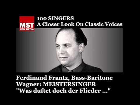 100 Singers - FERDINAND FRANTZ