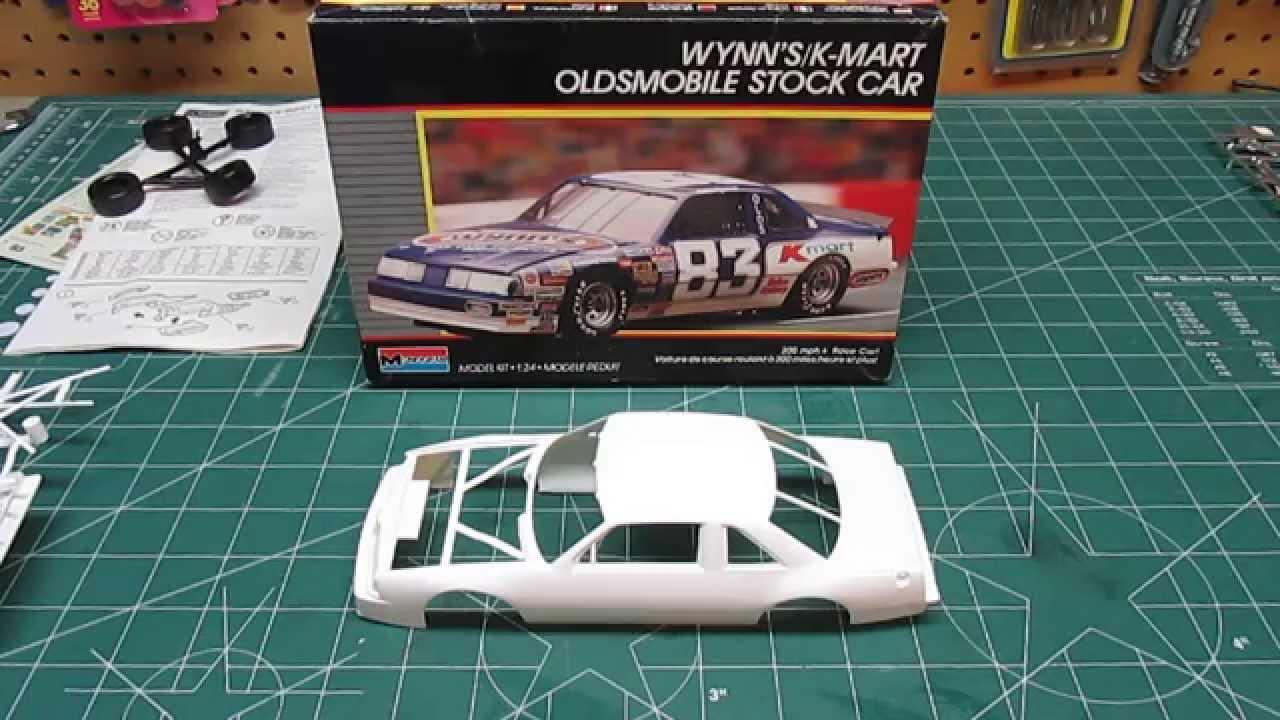 monogram lake speed wynn u0026 39 s kmart oldsmobile vintage nascar model kit open box review