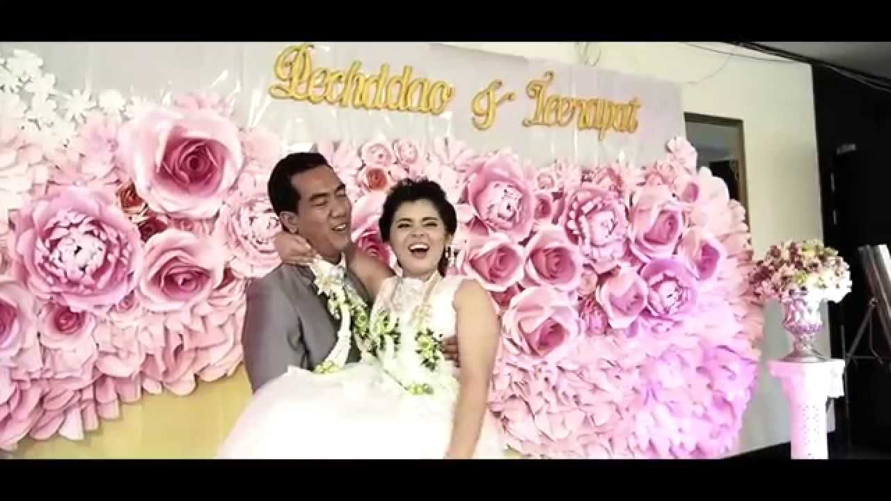 Moment To Love Thai Wedding Reception Gift Ae Youtube