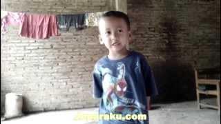 Anak Kecil Menyanyi Lucu Dalam Bahasa Jawa