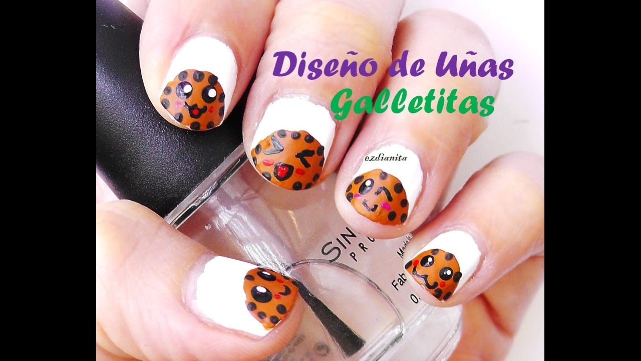 Diseño de uñas para niñas. Diseño de uñas facil. Easy nail art ...