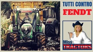 Fendt VS World (speed drawing of a Fendt 720 stuck in the mud)