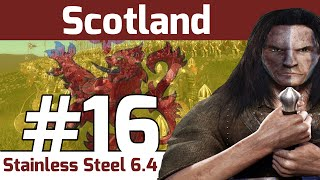 Let's Play - Stainless Steel 6.4 - Medieval 2 Total War: Scotland #16 - The Struggle Continues