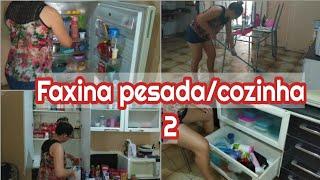 FAXINA PESADA NA COZINHA 2