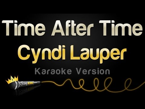 Cyndi Lauper  Time After Time Karaoke Version