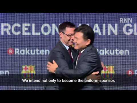 [RNN] Rakuten to Become FC Barcelona Main Global Partner from 2017-2018 Season