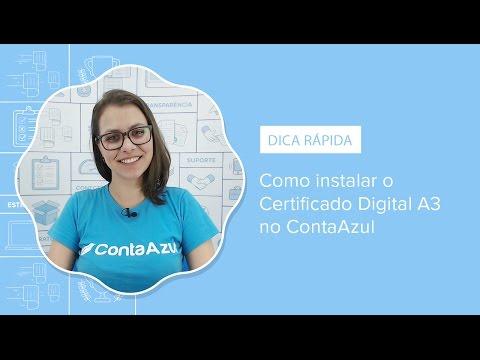 [DICA RÁPIDA] Como instalar o Certificado Digital A3 no ContaAzul