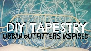 DIY Tapestry: Urban Outfitters Inspired