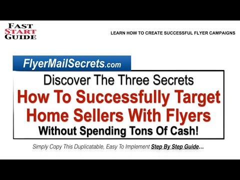 Real Estate Flyers   Flyer Mail Secrets