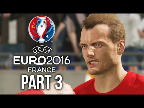 Euro 2016 Gameplay Walkthrough Part 3 - INTO THE KNOCKOUT ROUNDS ? (PES 2016 UEFA EURO 2016)