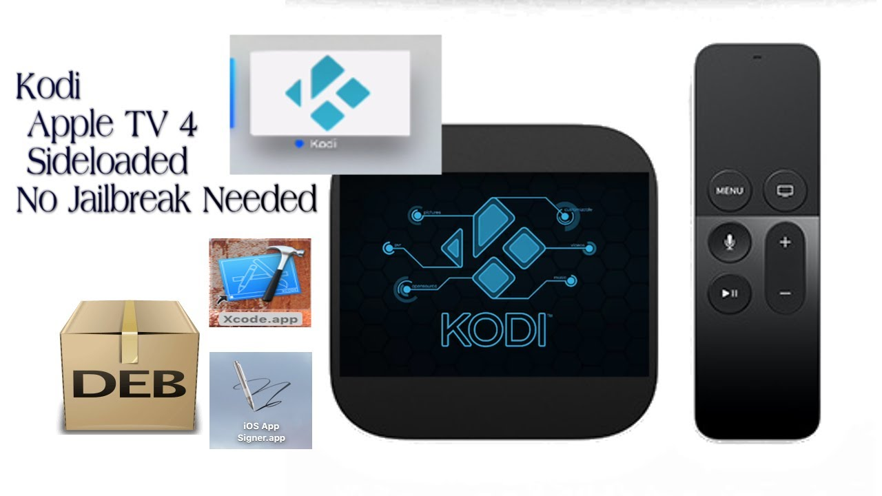 INSTALLERA KODI PÅ APPLE TV 4