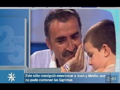 Download Las lágrimas de Juan Y Medio | 25 años de Canal Sur