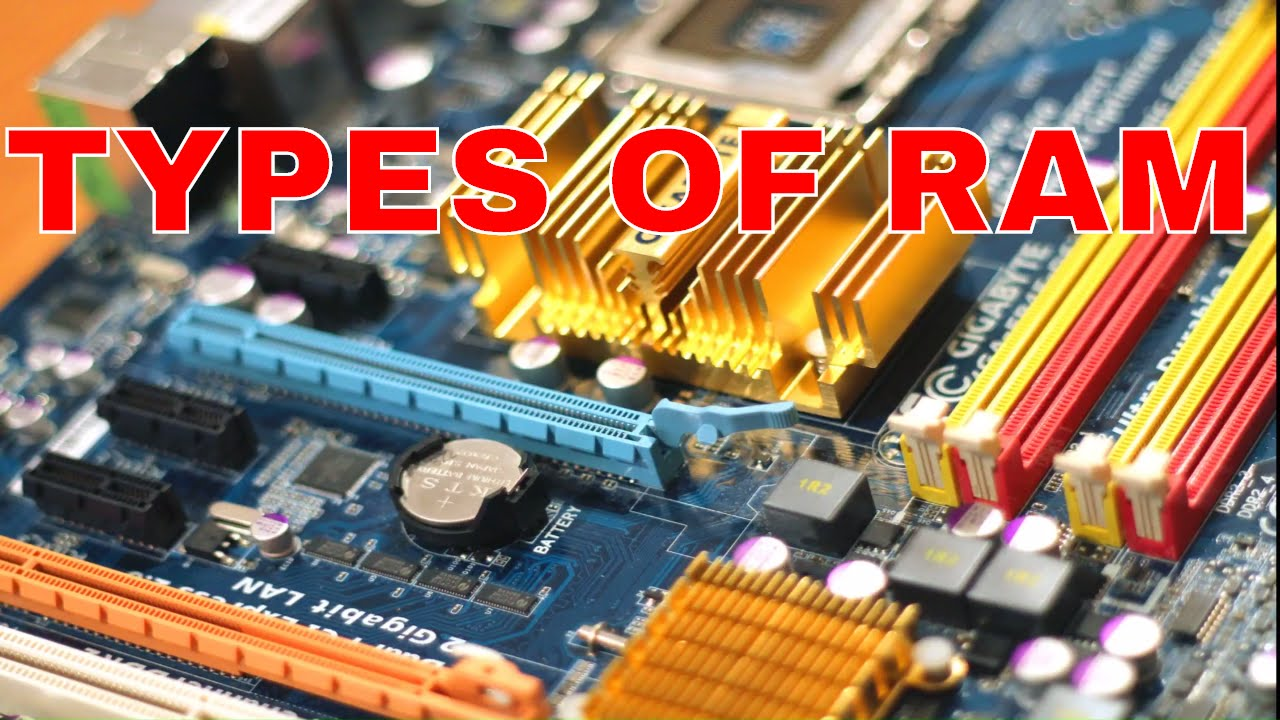 Types of RAM. What is the difference between static SRAM memory and dynamic DRAM memory