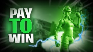Fortnite Pay To Win Skin Toy Trooper