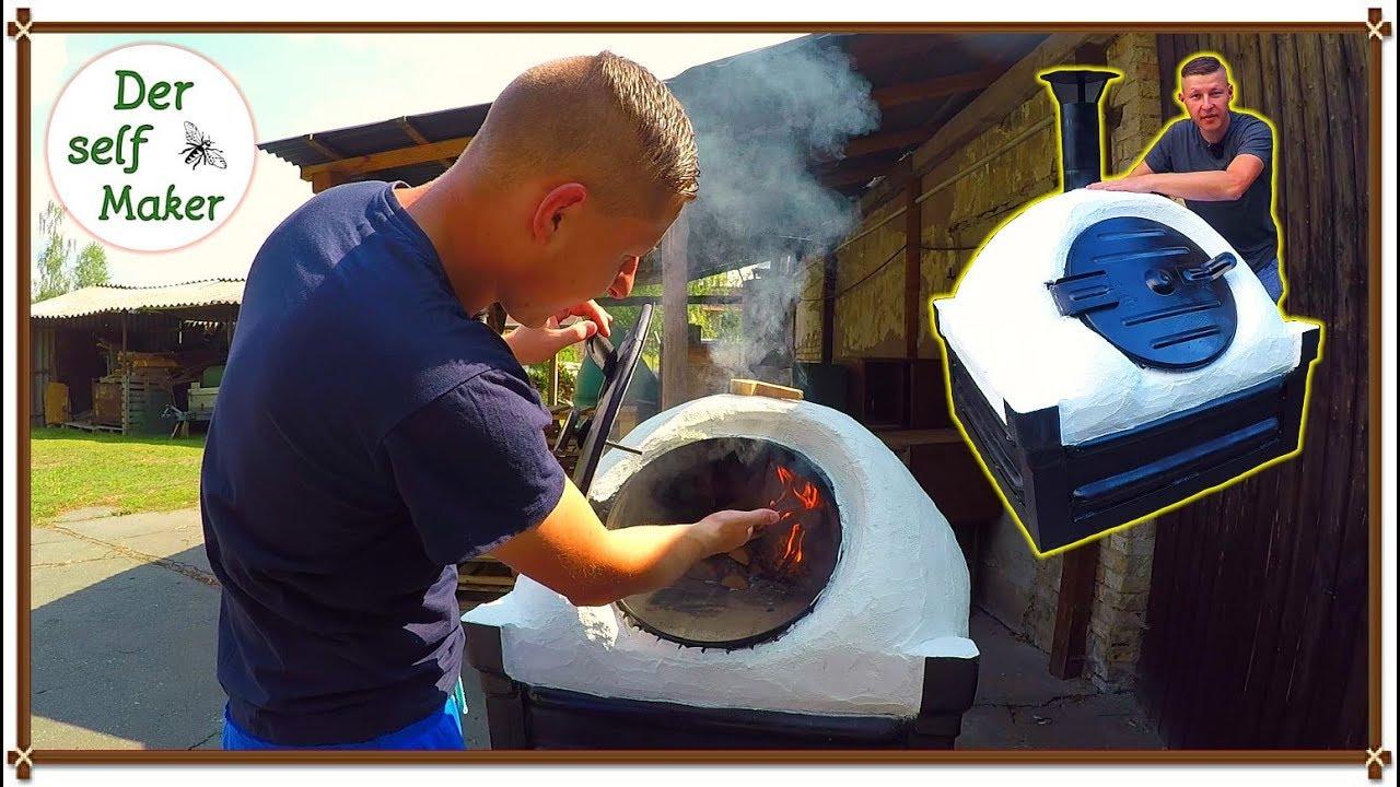 Steinofen selber bauen/ Pizzabackofen selber bauen/ Ofen selber bauen  schnell und einfach Teil 1/2