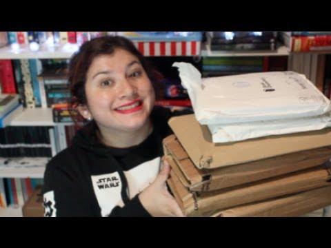 UNBOXING | Bookdepository Junio 2017 (Comics, novelas)