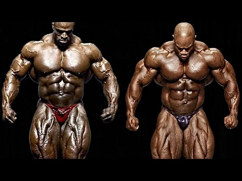 Ronnie Coleman vs. Phil Heath (Mr. Olympia)