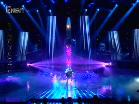 X Factor Albania - Celebrity Guest - Eliza Hoxha