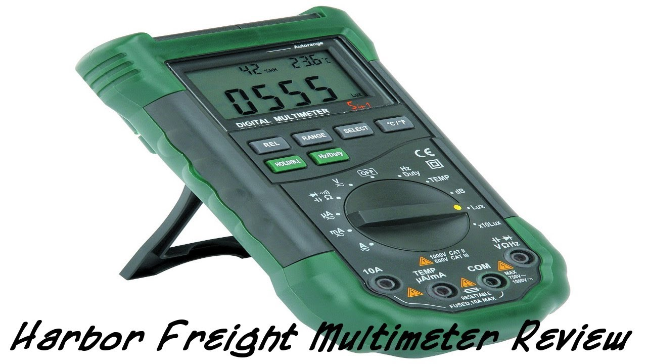 Cen Tech Multimeter Review