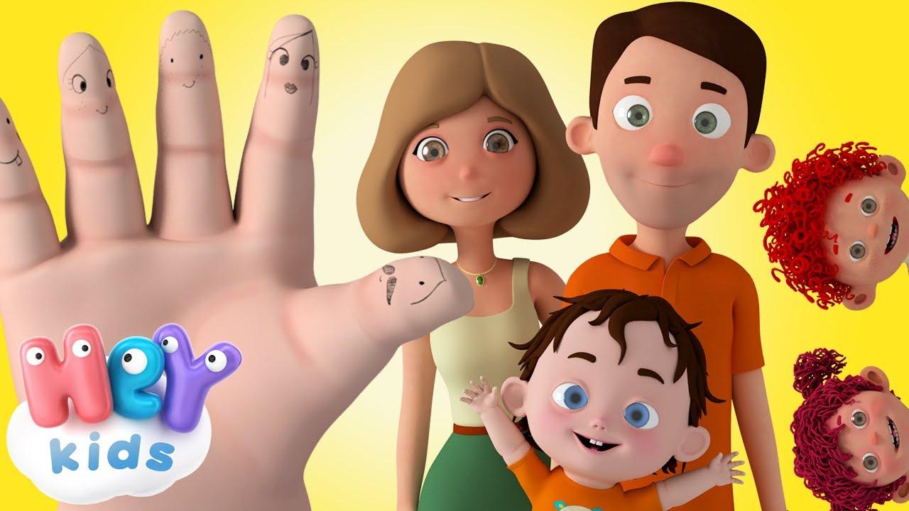 Семейство Пръстчета | HeyKids - Детски Песни