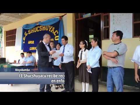 I.E. Shucshuyacu recibe reconocimiento por logro destacado en enfoque ambiental.