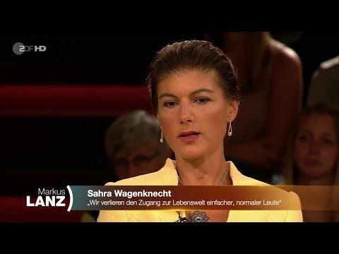 Die vergiftete Diskussion Sahra Wagenknecht 12.09.2019 Markus Lanz - Bananenrepublik