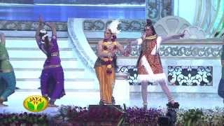 Actress Shobana Performing Bharatham In 100 Year Indian Cinema Celebration
