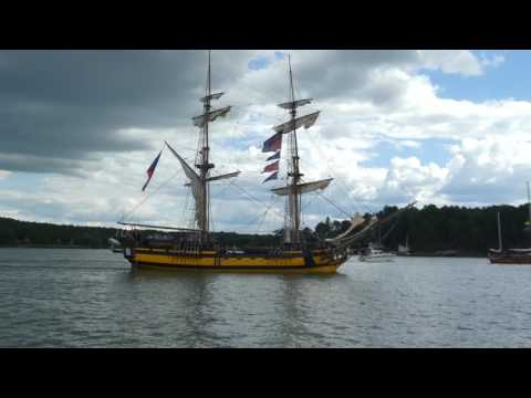 Tall Ships Races  - ships leaving Turku