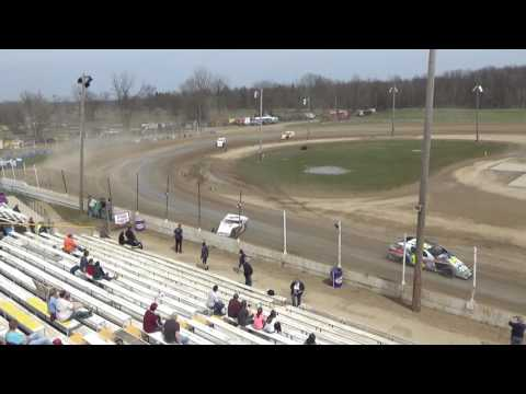 18. I.M.C.A. at Crystal Motor Speedway Test and Tune, 04-09-17