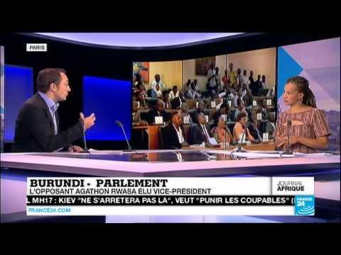France 24 Le journal de l'Afrique 30 07 2015 22h46