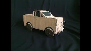 Kartondan jeep yapımı