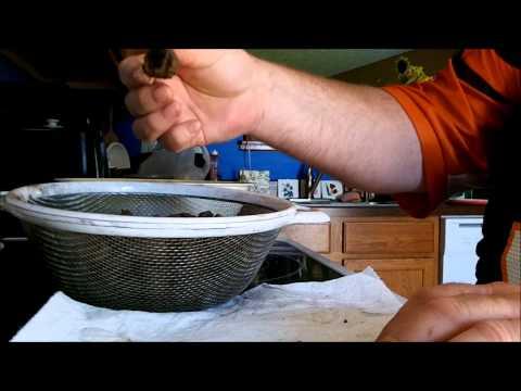 Quarters & Dimes - Cleaned using Large Walnut Shells