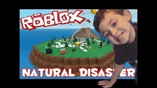 Mikey Plays Roblox (Natural Disaster Survival)Arch Park - Volcano