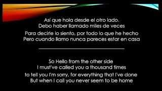 Video Hello - Adele - Letra Español/Ingles download MP3, 3GP, MP4, WEBM, AVI, FLV Oktober 2017